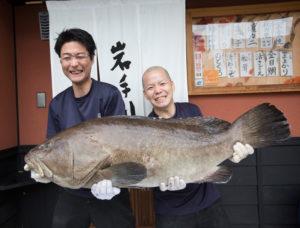 岩手川のクエ料理