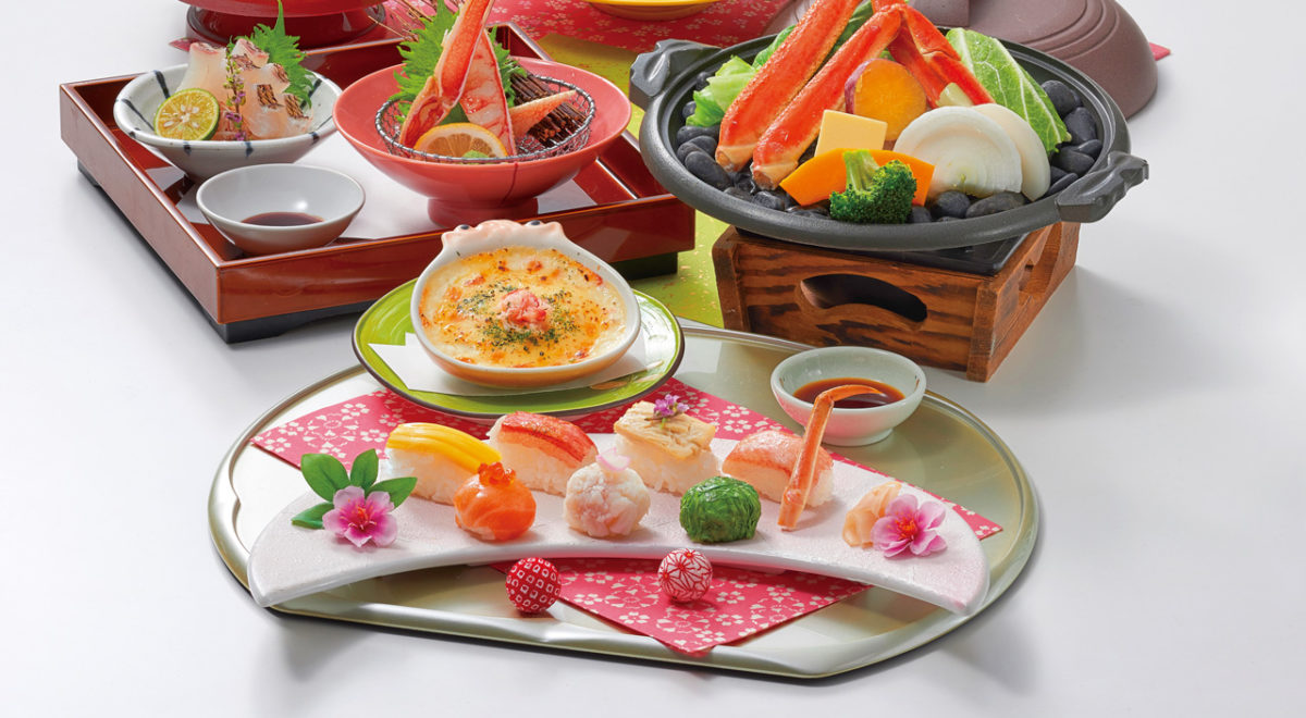 手まり寿司会席